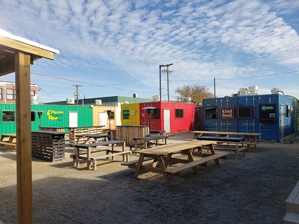 The Iron District - A new container park offering food and retail vendors in NKC