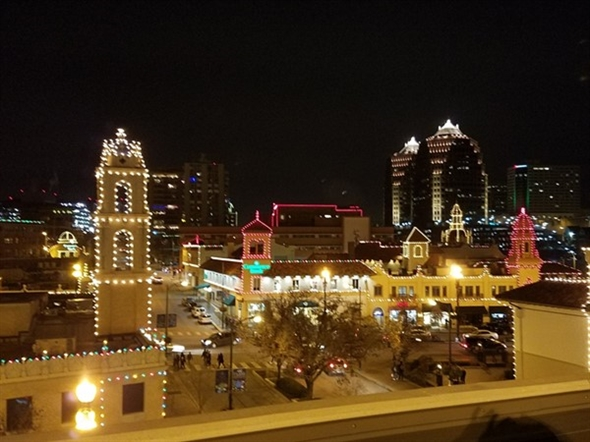 The awe inspiring Plaza Lights in Kansas City, Missouri