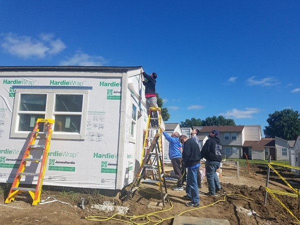 Building Tiny Homes for Veterans