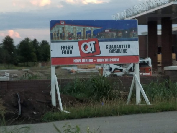 Quik Trip coming at 159 and 69 Hwy