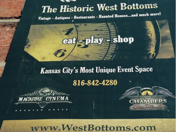 Love the KC West Bottoms which is filled with antiques and food trucks