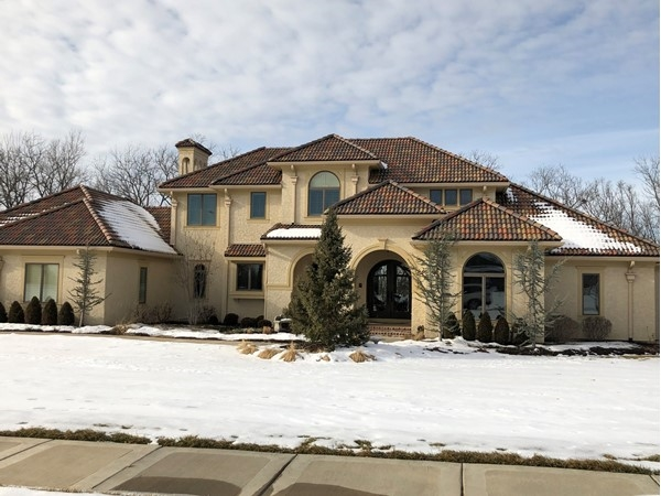 Stunning two story home with outstanding Spanish tile roof