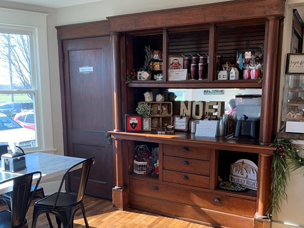A glimpse inside the Lovett Coffeehouse and Eatery