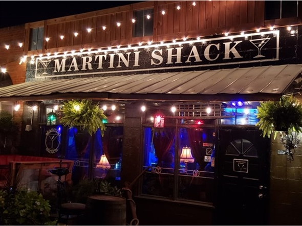 The Martini Shack is great for a date night