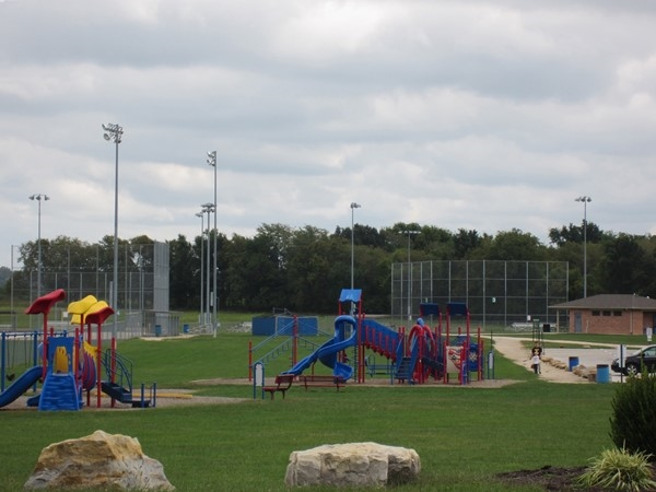 Playgrounds at the Monkey Mountain Athletic Complex, Grain Valley
