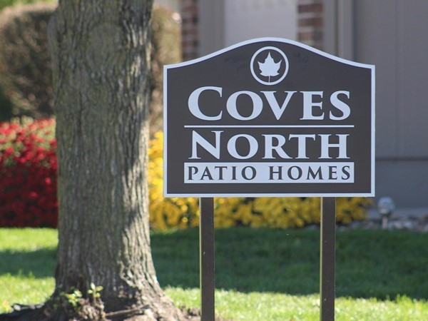 Coves North Patio homes
