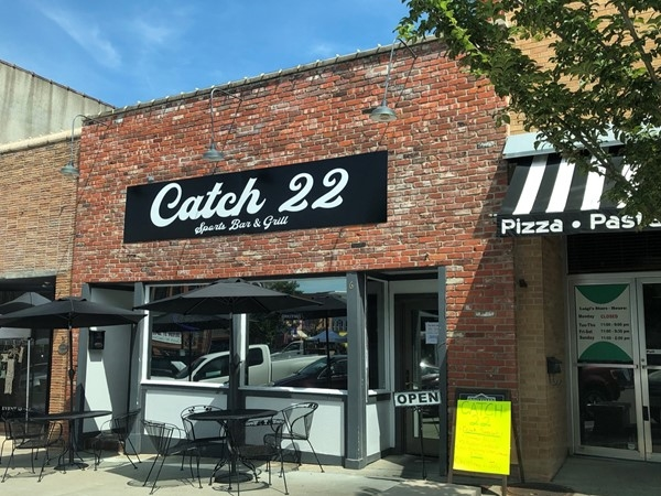 Catch 22 is a fun bar and grill with great atmosphere. You cannot find a better french dip around