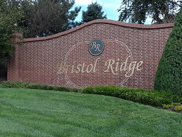 Entry to Bristol Ridge