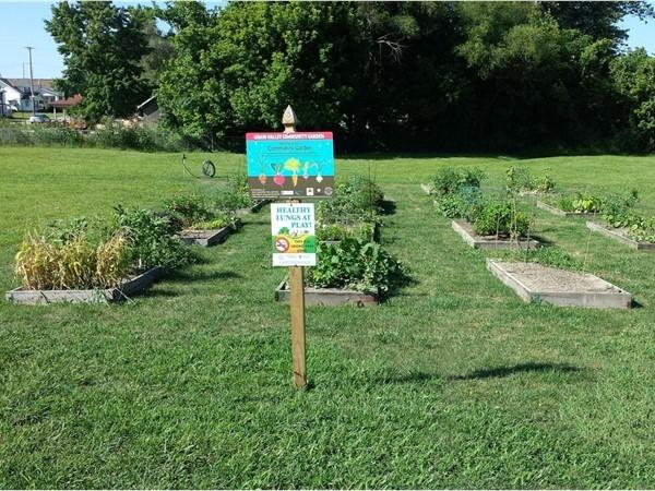 Community Garden at Main Street and Walnut Street, Grain Valley