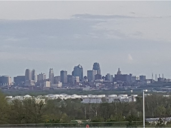 Downtown skyline taken from Park Hill South High School