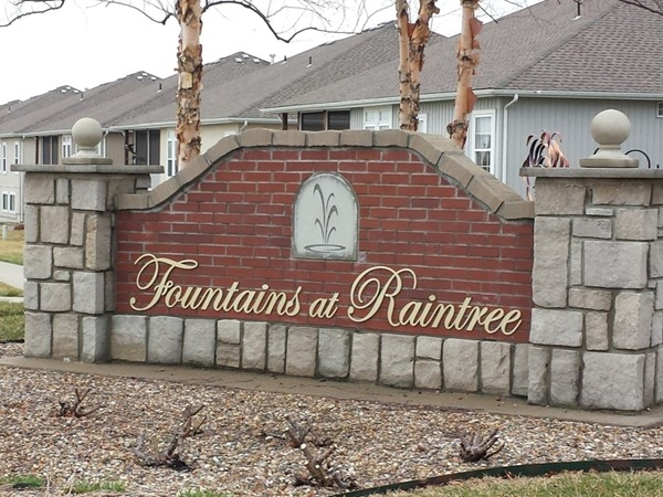 Fountains at Raintree is a beautiful low maintenance provided community