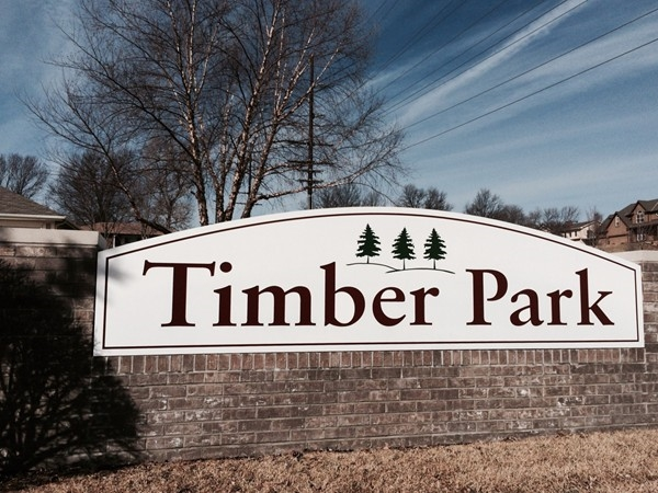 Timber Park - friendly neighborhood and nice walking trail