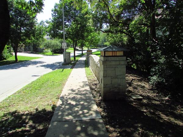 Bridge at the entrance to Bridgewood
