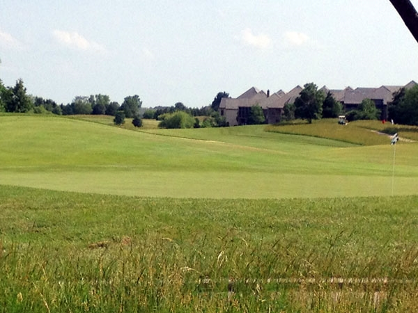 The 13th hole at The Links at Lionsgate development.