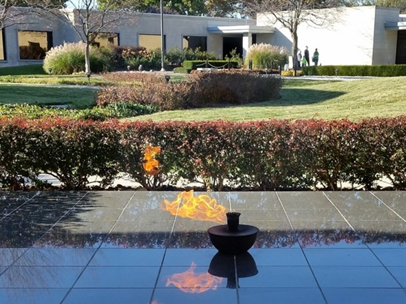 Flame Of Freedom at the Harry S.Truman Library and Museum