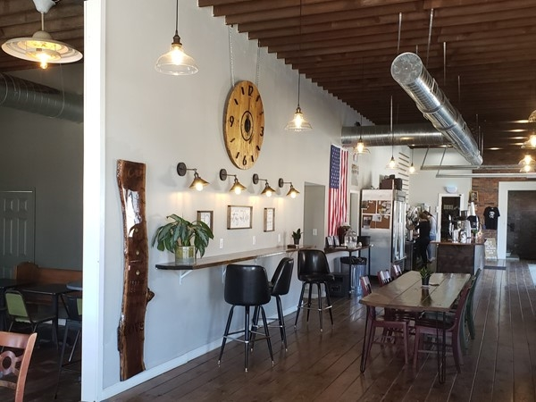 One of the coolest coffee shops in this small US Airforce community