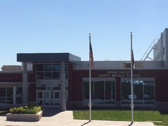 Grain Valley North Middle School, part of Grain Valley's top notch education system