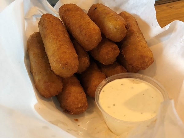Beered Man's Kitchen Mozzarella Sticks