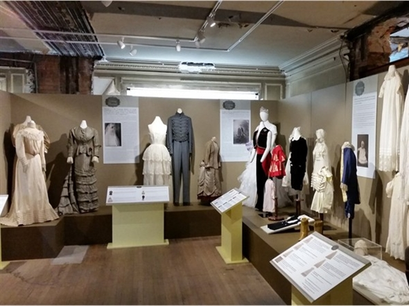 Take a walk down memory lane and explore clothing from different eras at the Kansas City Museum