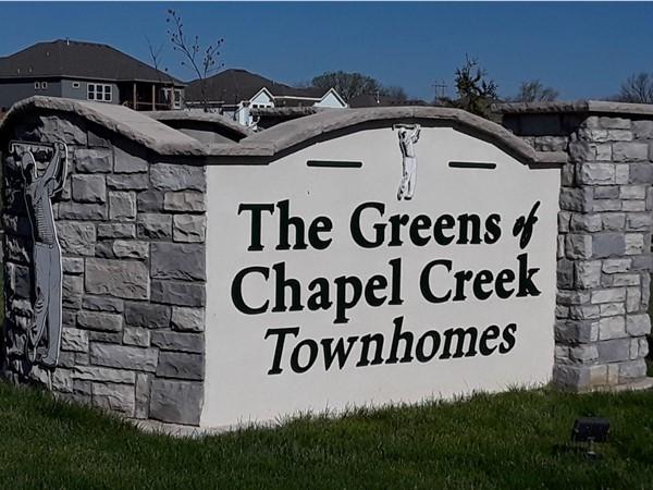 Greens of Chapel Creek Townhomes in Shawnee KS