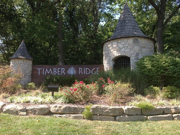 Timber Ridge entrance