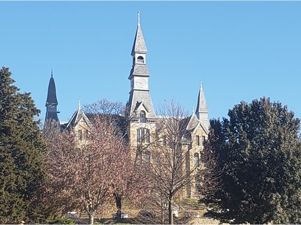 Park University...just down the road