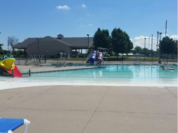 Grain Valley pool is now open