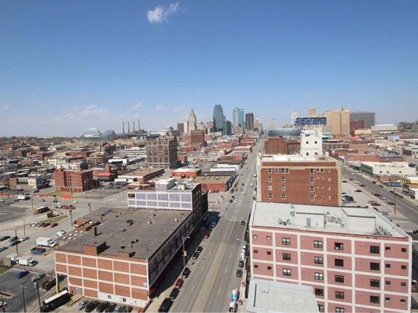 A beautiful spring day in Downtown Kansas City