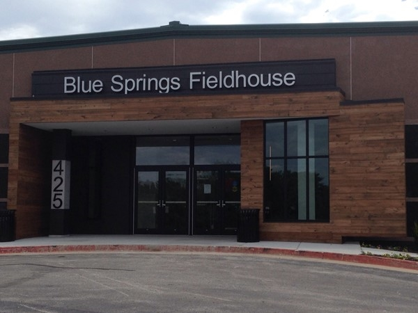 Public entrance for the new Blue Springs Fieldhouse