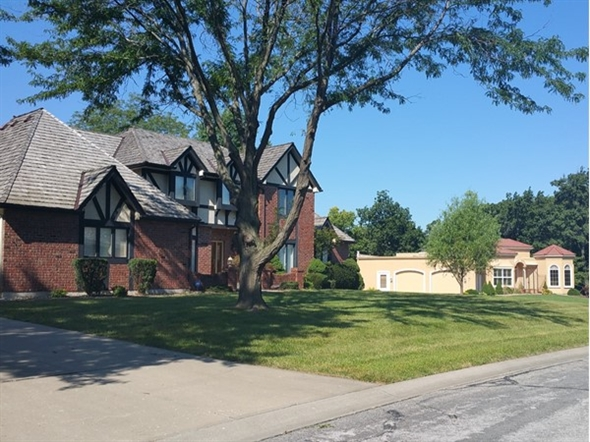 A few of the large homes this community offers