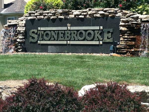 Entrance to Stonebrooke