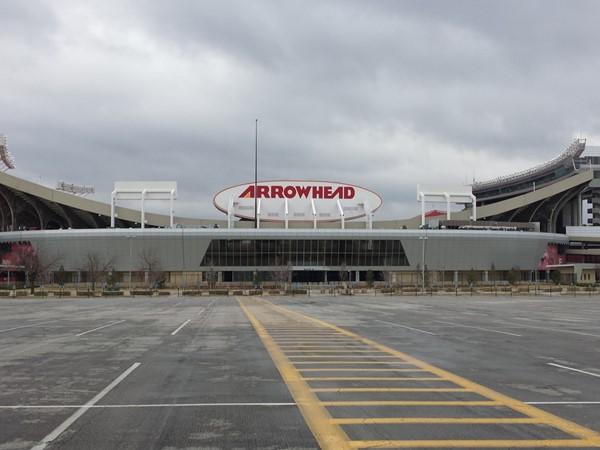 Arrowhead Stadium. Home of the Kansas City Chiefs