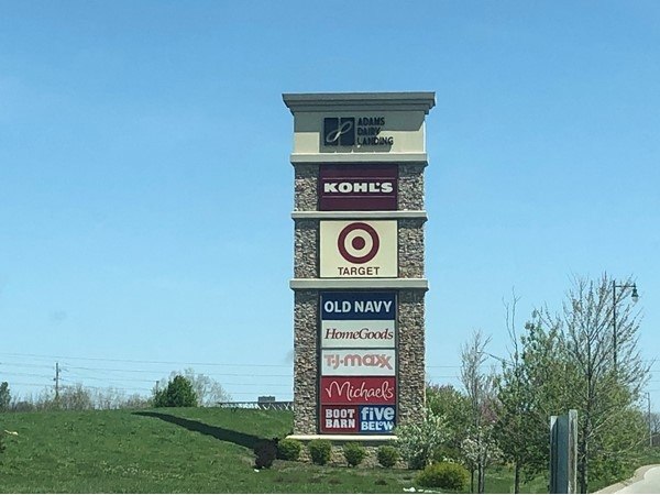 Adams Dairy Landing shopping center has a wide variety of top favorite stores