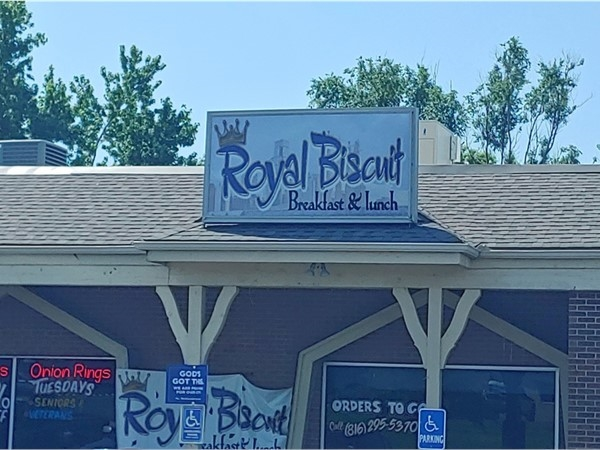 Royal Biscuit - local business with great service, generous food portions and decent prices