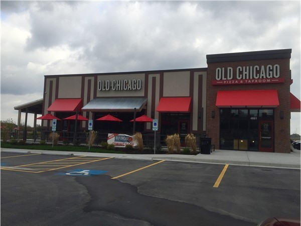Old Chicago Pizza and Taproom coming soon. Located off of 291 and 40 Highway