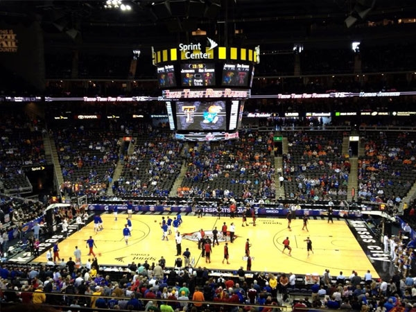 Each year the Sprint Center plays host to numerous basketball games...not a bad seat in the house.