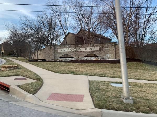 Welcome to Greenview Ridge in Shawnee, Kansas