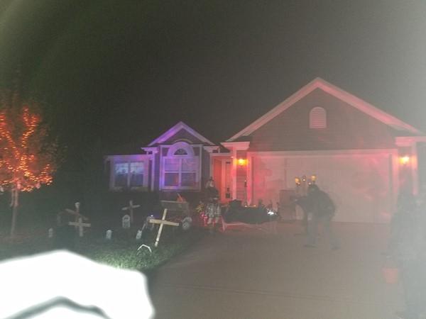 Spooky, safe neighborhood and kid friendly too