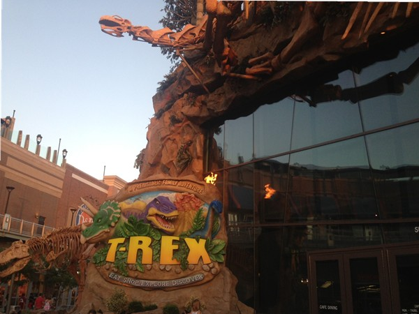 T-Rex Prehistoric Family Adventure