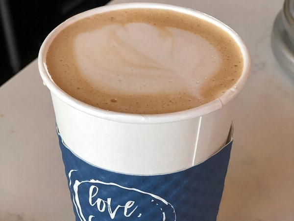 Love, Coffee makes it so easy to shop local. And that white chocolate mocha latte...yummm