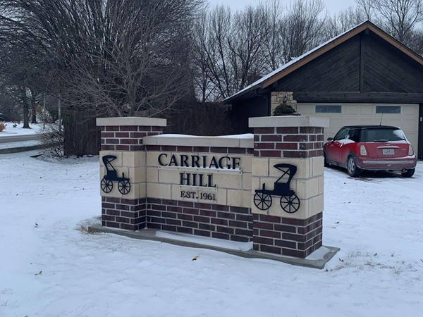 Carriage Hill is a quiet, friendly, well established neighborhood in Gladstone