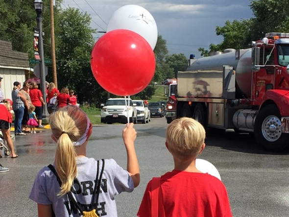 Small town homecoming parades are the best