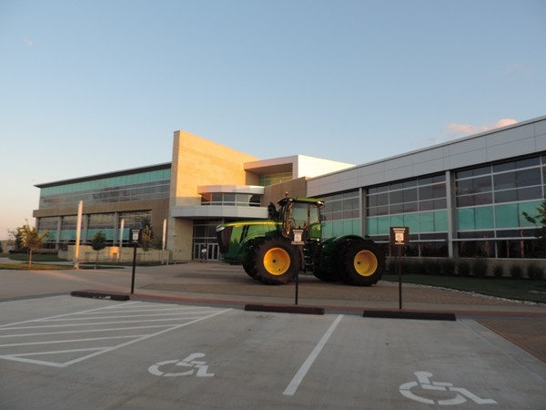 Olathe welcomed John Deere Sales and Marketing in Sept. 2011