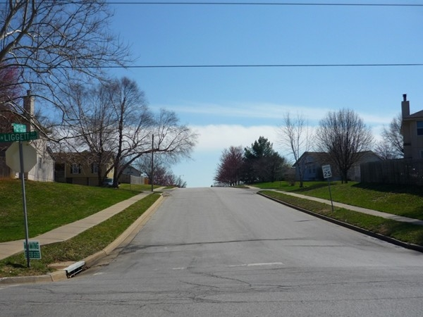Southwest 12th Street from Southwest Liggett Road in Eastman Hills