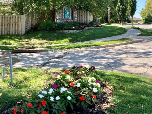 Entrance to Trails of North Brook Subdivision