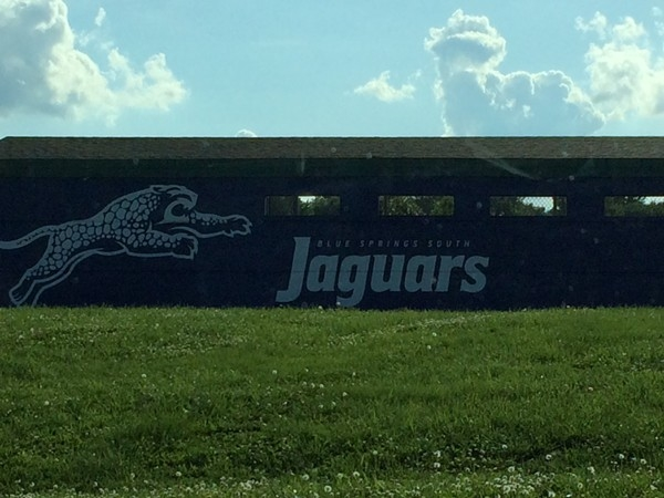 Blue Springs South Jaguars football field