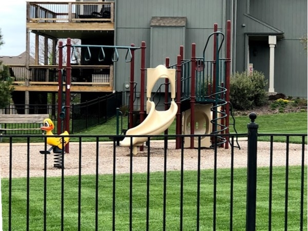 Playground for kids in Austin Meadows