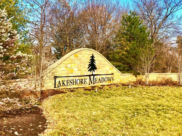 Lakeshore Meadows Subdivision located in West Olathe near Lake Olathe