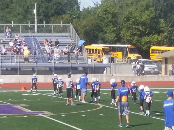 Football has started for the Grain Valley Athletic Association