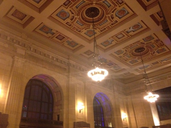 History was replicated as the architecture was preserved at Union Station